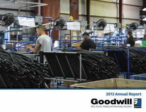GOODWILL INDUSTRIES OF ERIE, HURON, OTTAWA AND SANDUSKY COUNTIES, INC. 2013 ANNUAL REPORT
