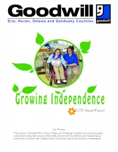 GOODWILL INDUSTRIES OF ERIE, HURON, OTTAWA AND SANDUSKY COUNTIES, INC. 2015 ANNUAL REPORT