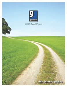 GOODWILL INDUSTRIES OF ERIE, HURON, OTTAWA AND SANDUSKY COUNTIES, INC. 2017 ANNUAL REPORT